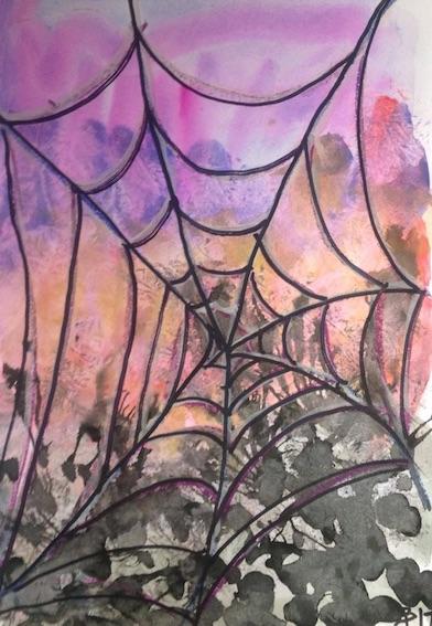 431 evening cobweb ink wc