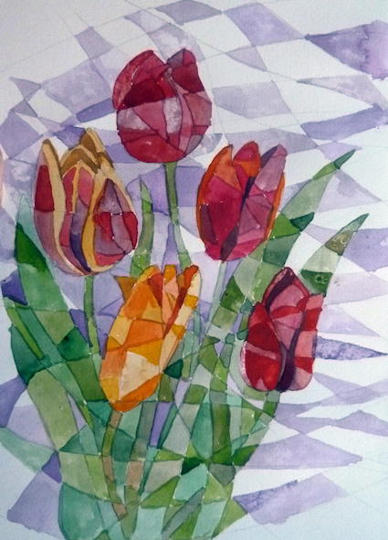 11 tulips