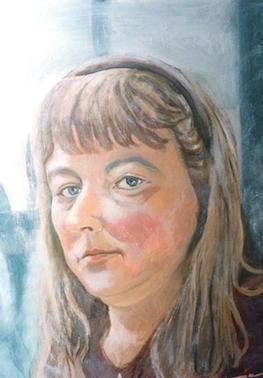self portrait oil