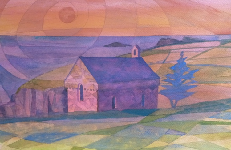 380 SUNSET over St Nons